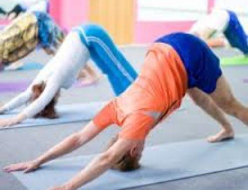 """Freifach """"Yoga"""" des Oberstufenzentrums Hofmatt"""